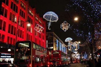 Рождественская иллюминация в Лондоне